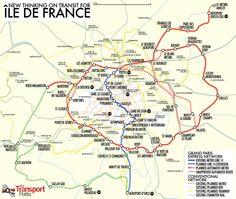 Paris Métro Map Note Several Old Station Denominations - Paris metro station map