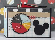 Okay this is the last Disney album I have.well that is made, doesn& mean I won& make more! Anyway the cover is . Project Life Scrapbook, Disney Scrapbook Pages, Mini Scrapbook Albums, Scrapbook Paper Crafts, Scrapbooking Layouts, Mini Photo Albums, Mini Albums Scrap, Autograph Book Disney, Disney Crafts