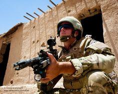 Kajaki Foot Patrol by Defence Images, via Flickr