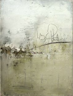 "Oughterard by Michael Napper 2004 - oil, pencil, and pigment on paper 30 x 22"" paper size ; 33 x 25 1/2"" frame size"