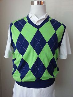 #ebay POLO Golf Ralph Lauren Men's Size M cotton V-neck vest new with tag RalphLauren withing our EBAY store at  http://stores.ebay.com/esquirestore