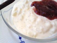 Post: Ris a la mande (receta danesa) ---> arroz con leche, postres daneses, postres de arroz, postres de navidad, postres fáciles, postres nórdicos, postres para muchos, recetas postres delikatissen, Ris a la mande