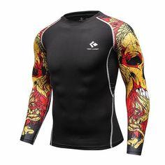 7f0062f86f89 Men s Bodybuilding Compression Shirt