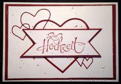 Claudia's Karteria: Zur Hochzeit auf Herzen / To the wedding on the heart