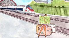 Avec la SNCF, l'Europe est vraiment juste à côté avec des billets à 25 euros pendant 10 jours pour 11 destinations différentes. - Insolite - My Little Paris