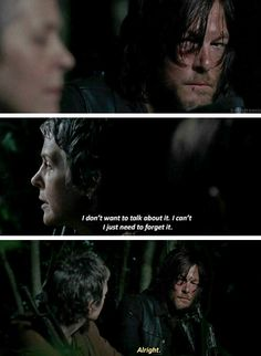 """""""I don't want to talk about it.."""" The Walking Dead 5x06 """"Consumed"""""""