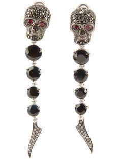 Gavello Skull Head Earrings | Jewelry and Accessory