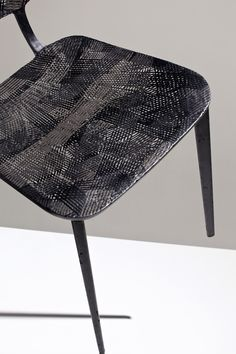 marleen kaptein employs aerospace fibre placement technique to form carbon chair