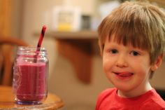 INDULGE in Nutrition – Love you Berry Much Smoothie - Kid Approved #ontheblog