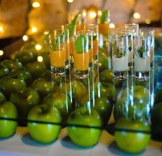 Украшение свадьбы яблоками – идеи яблочной свадьбы