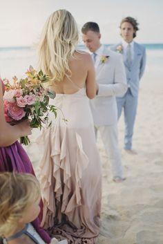 Ombre Celia Grace Wedding Dress