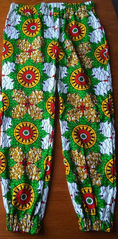 Adult hareem pants  in african wax print of choice by SewVee