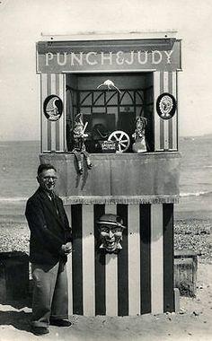 Ernest Brisbane Punch & Judy booth, Dorset