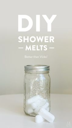 How amazing does a shower feel when you're sick? Imagine how much more amazing it'll feel when you add these soothing, calming shower melts! Vicks Shower, Eucalyptus Shower, Shower Bombs, Shower Steamers, Solid Shampoo, Diy Shower, Soap Making, Diy Beauty, Body Care