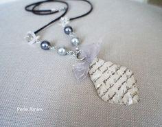 Descartes Vintage Letter Necklace