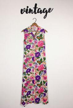 Vintage NPC Fashions Women's Dress Multi-Colored Soft Funky Beach Summer | eBay