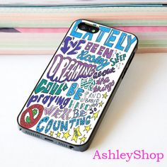 Counting Stars Lyric Case For iPhone 4/4s/5s/5c/6/6+/S3/S4/S5/S6 - Default iPhone 5/5s Case
