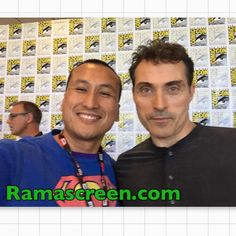 Rockin it with Rufus Sewell at Comic-Con #TheManInTheHighCastle #DarkCity