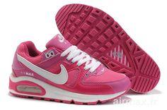 brand new 65f8c 481c3 peche rose blanche femmes nike air max commande Nike Air Max Command, Nike  Air Max