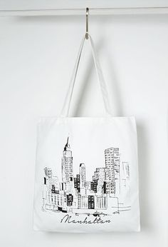 Manhattan Graphic Shopper Tote from Forever 21 $3,90