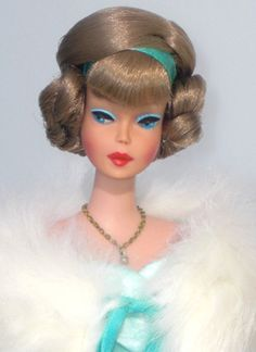 Side Part American Girl Vintage Barbie