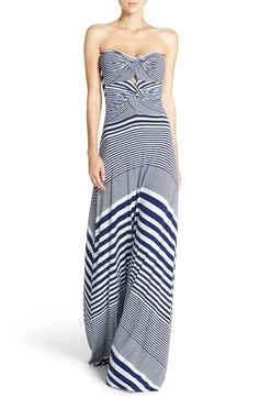 Stripe Strapless Maxi Dress (Nordstrom Exclusive)