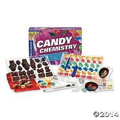 Candy chemistry from mindware