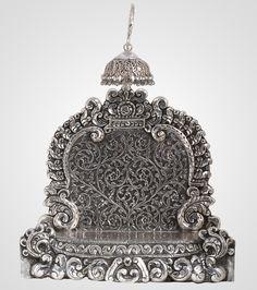 Antique Metal, Antique Jewelry, Antique Silver, Silver Jewelry, Silver Market, Silver Pooja Items, Silver Lamp, Rangoli Border Designs, Buddha Sculpture