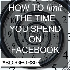 How to limit the time you spend on Facebook Facebook Business, Business Pages, Social Media Tips, How To Know, Challenges, Day, Blog, Blogging, Social Media
