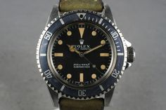 1967 Rolex Submariner 5513 w/ meters first dial. This is a thing of beauty.