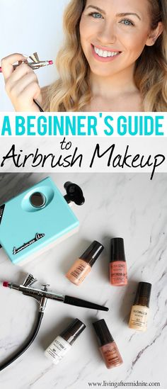 A Beginner's Guide to Airbrush Makeup