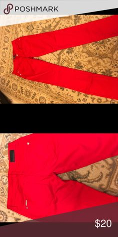 Celebrity Pink Jeans red New no tags Never worn tags removed Celebrity Pink Jeans bright red Celebrity Pink Jeans Skinny