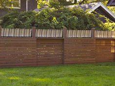 Easy garden fence