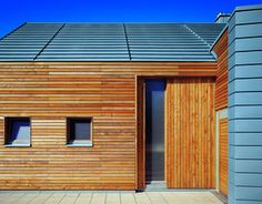 Natural materials and Rheinzink roof