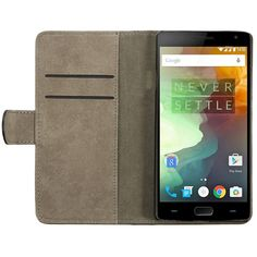 Mohoo Flip Leather Wallet Card Slot Protective Case Cover Stand For Oneplus 2