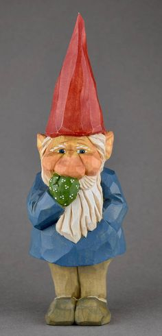 gnome elf tomte nisse lutin Santa Christmas wood carving