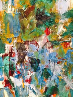 Joan Mitchell Painting Detail Cheim & Read New York