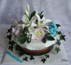 Květinový Košík  on Cake Central