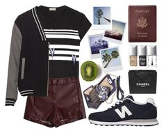 """""""✔✔"""" by klaricca ❤ liked on Polyvore featuring New Balance, SUNO New York, Royce Leather, Chanel, Polaroid, Therapy, Christian Dior, Mohzy, women's clothing and women"""