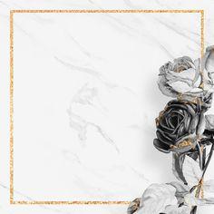 Flowery Wallpaper, Black Phone Wallpaper, Phone Wallpaper Images, Framed Wallpaper, Flower Background Wallpaper, Flower Phone Wallpaper, Flower Backgrounds, Photo Backgrounds, Wallpaper Backgrounds
