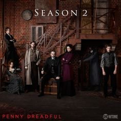 Exciting news! PENNY DREADFUL will be back for a second season consisting of 10 episodes. Starring Josh Hartnett, Timothy Dalton and Eva Green, the series will go back into production in Dublin,. Dorian Gray, Penny Dreadful Season 2, Penny Dreadful Tv Series, Vanessa Ives, Penny Terrible, The Walking Dead, Best Wallpaper Sites, Penny Dreadfull, Rory Kinnear