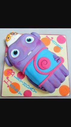 "DreamWorks HOME ""Boov"" Cake"