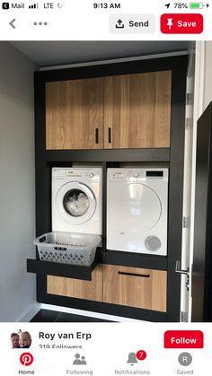 Unique Laundry Room Decoration Ideas Just For You - Waschraum - Küchen Design, House Design, Design Ideas, Design Styles, Design Trends, Decor Styles, Modern Laundry Rooms, Vintage Laundry Rooms, Bathroom Vintage