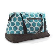 i would love this for traveling! Retro Metro Weekender - #thirtyonegifts www.mythirtyone.com/allisongreenetx