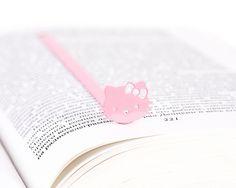 Pink bookmark by Dvolsh  Segnalibro rosa di Dvolsh