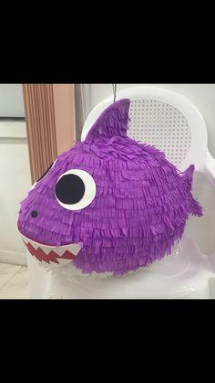 Baby Shark Piñata | Piñatas in 2019 | Baby shark, Art, Shark