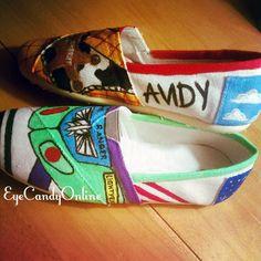 Disney Inspired Shoes by EyeCandyOnline on Etsy