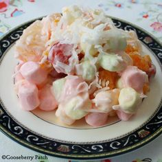 Sweet Ambrosia Salad- been looking for this recipe for a long while
