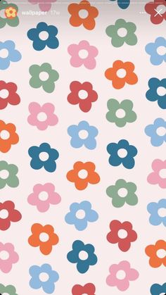 Homescreen Wallpaper, Iphone Background Wallpaper, Aesthetic Iphone Wallpaper, Hippie Wallpaper, Flower Wallpaper, Artsy Background, Cute Patterns Wallpaper, Wallpaper Ideas, Pretty Wallpapers