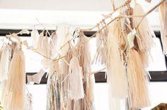 Confetti System elegant modern wedding garland